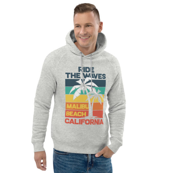 unisex eco hoodie heather grey front 2 609a36e402b0d