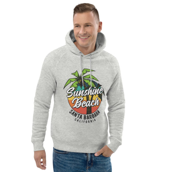 unisex eco hoodie heather grey front 2 609a373437be9