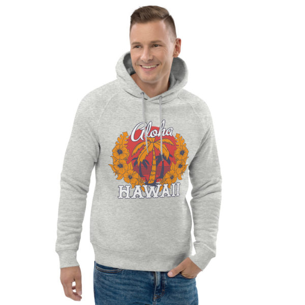 unisex eco hoodie heather grey front 2 609a3b5dcb36a
