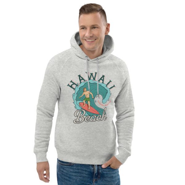 unisex eco hoodie heather grey front 2 609a3ba176e50