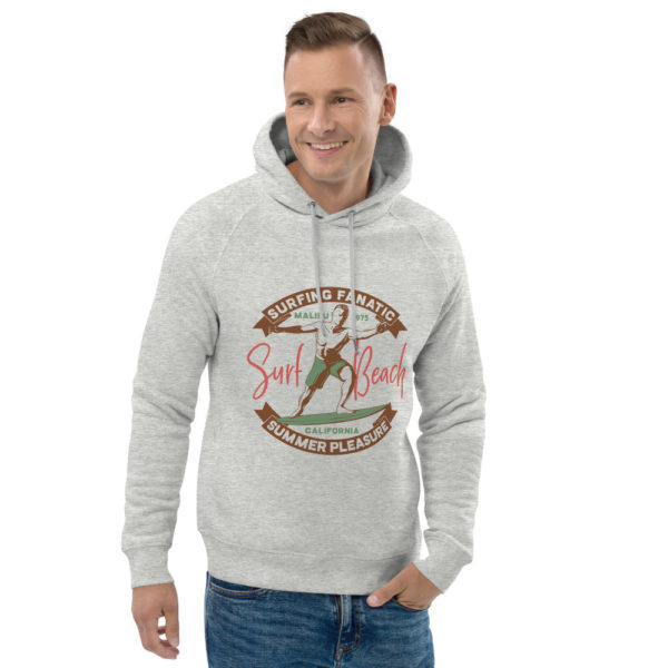 unisex eco hoodie heather grey front 2 609a3ff000a2a