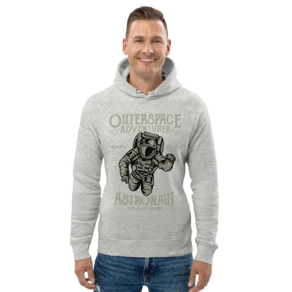 unisex eco hoodie heather grey front 6030fb3e09d1f