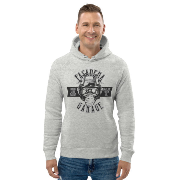 unisex eco hoodie heather grey front 6093bb0e2a0a1