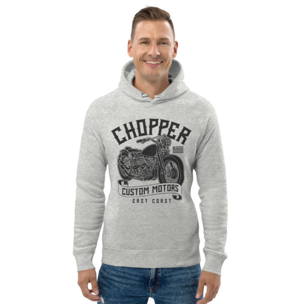 unisex eco hoodie heather grey front 6093be9de298f