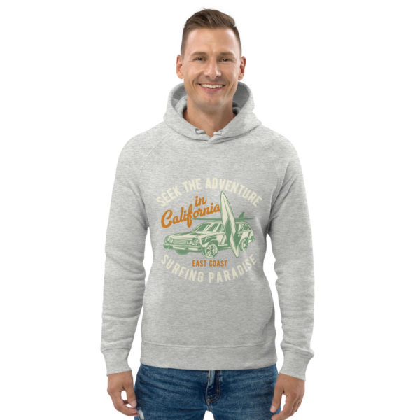 unisex eco hoodie heather grey front 609a36475b71a