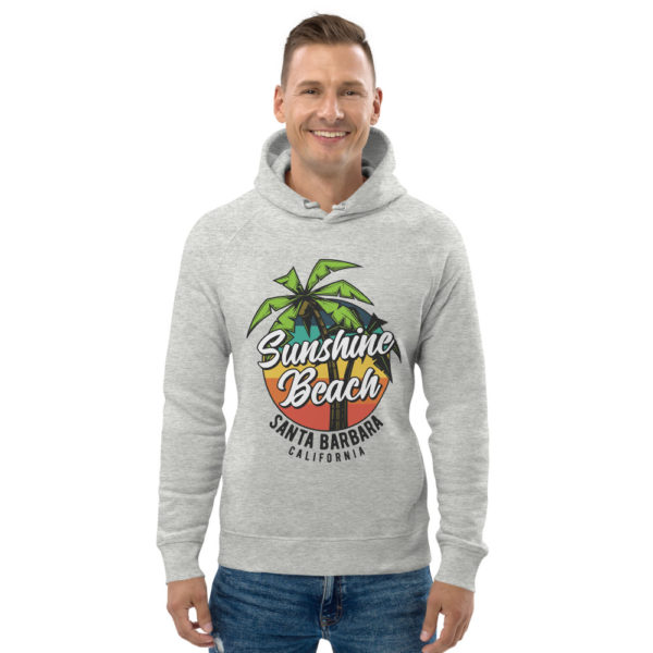 unisex eco hoodie heather grey front 609a373437a65