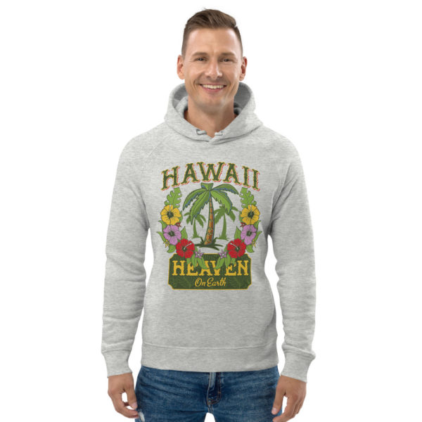 unisex eco hoodie heather grey front 609a3b127b78d