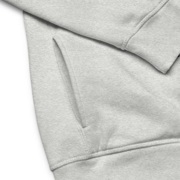 unisex eco hoodie heather grey product details 6030fc1a9f9f0