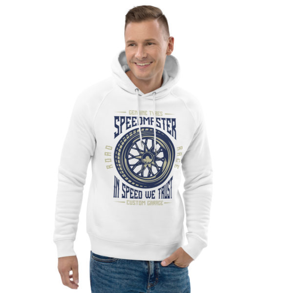 unisex eco hoodie white front 2 60904d8a65040
