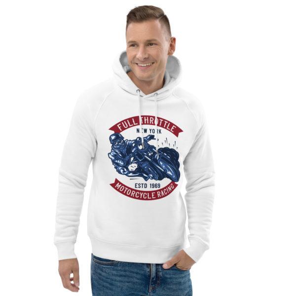 unisex eco hoodie white front 2 60925c39962fd