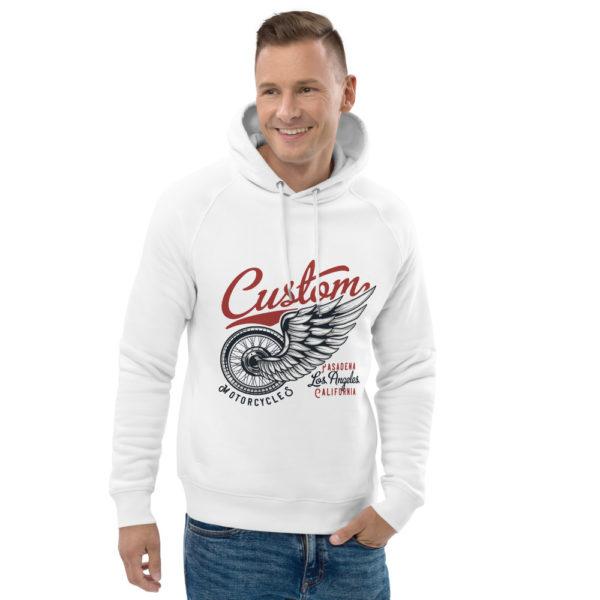 unisex eco hoodie white front 2 60925d30de32d