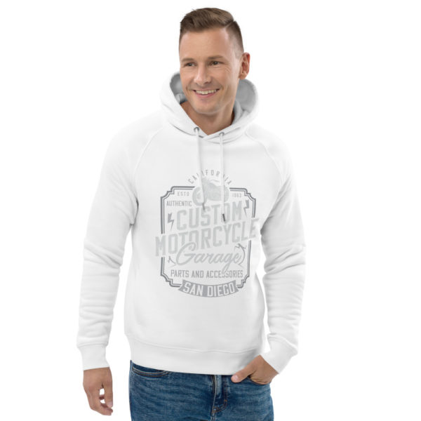 unisex eco hoodie white front 2 60925d7d3ffaf