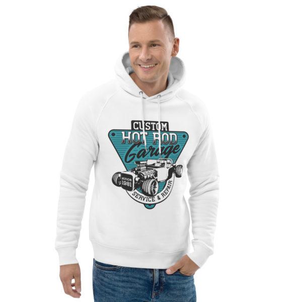 unisex eco hoodie white front 2 60925f8966136