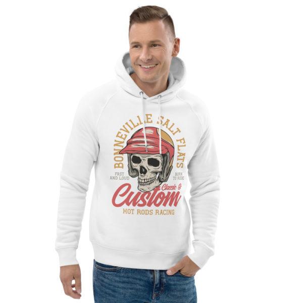 unisex eco hoodie white front 2 6092607768b8c