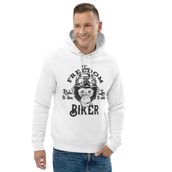 unisex eco hoodie white front 2 60926118d69ef
