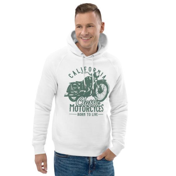 unisex eco hoodie white front 2 6093bc4394ab5
