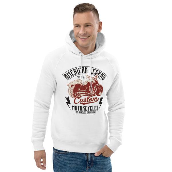 unisex eco hoodie white front 2 6093c37167fb7