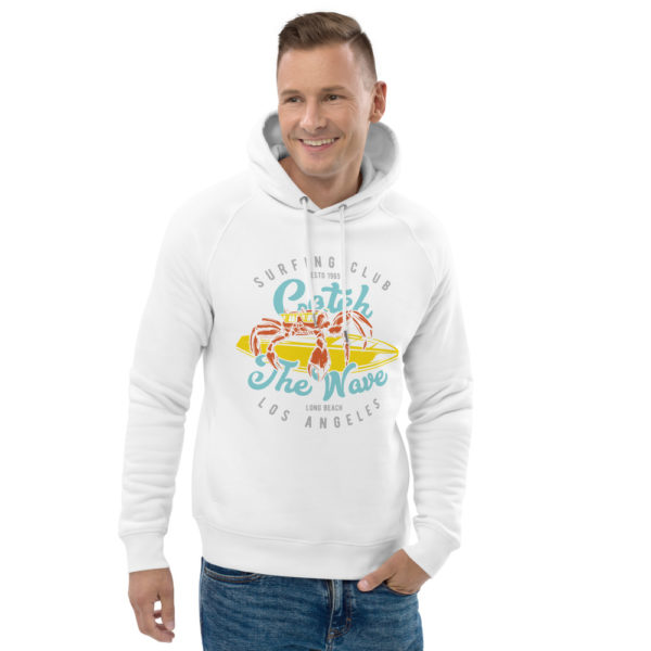 unisex eco hoodie white front 2 609a34b956103