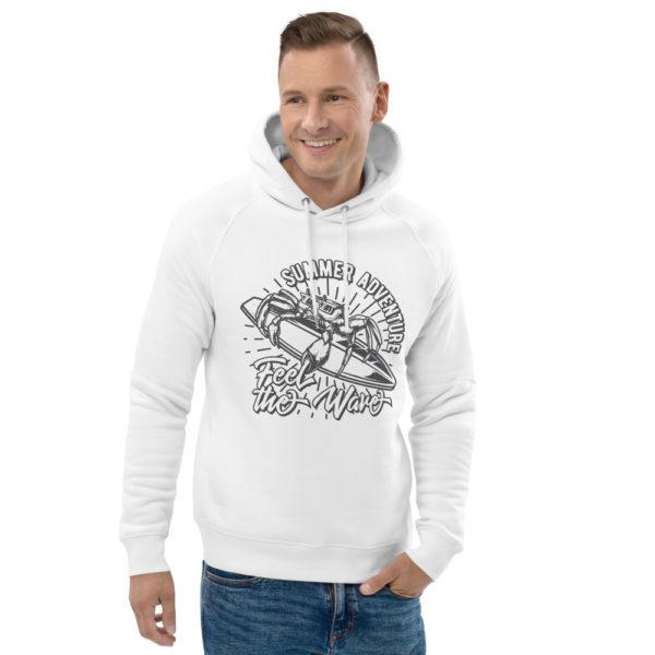 unisex eco hoodie white front 2 609a3508c216c