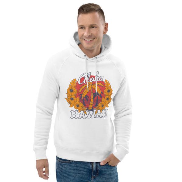 unisex eco hoodie white front 2 609a3b5dcbb35