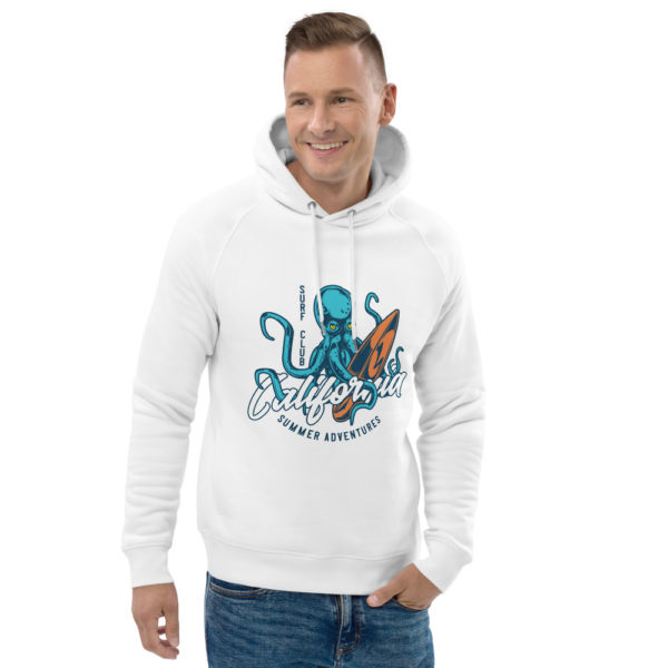 unisex eco hoodie white front 2 609a3ecea903b