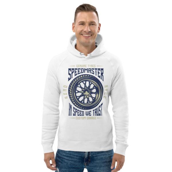 unisex eco hoodie white front 60904d8a64d4e