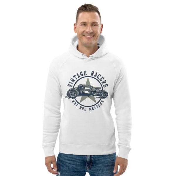 unisex eco hoodie white front 60925966bfbb2