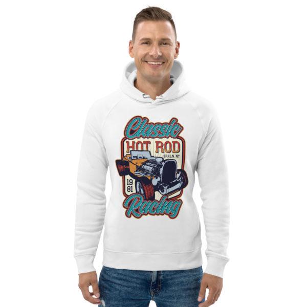 unisex eco hoodie white front 609260256c8d1