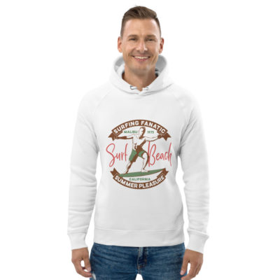 unisex eco hoodie white front 609a3ff0004e7