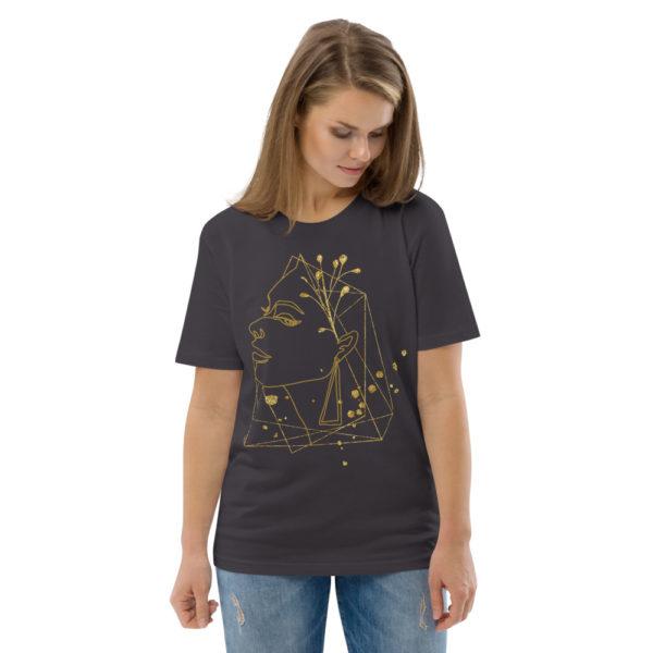 unisex organic cotton t shirt anthracite front 2 6144a7374eb56