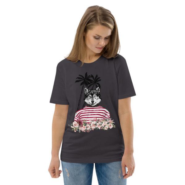 unisex organic cotton t shirt anthracite front 2 614dd85ed22bb