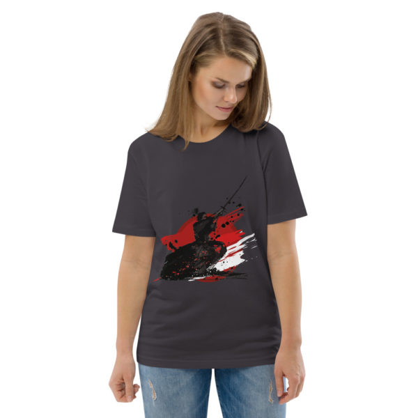 unisex organic cotton t shirt anthracite front 2 614dda9e1e387