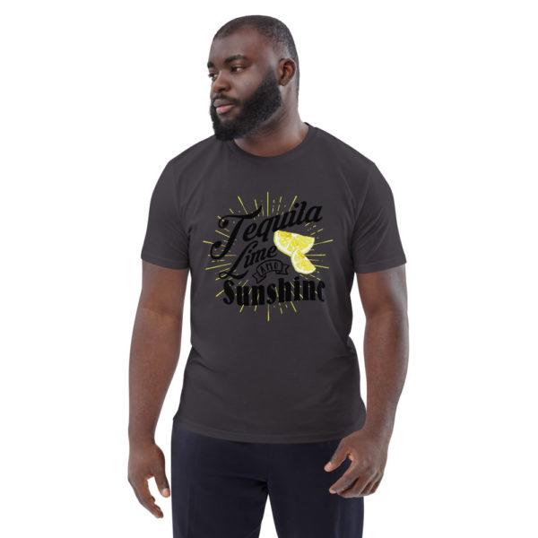 unisex organic cotton t shirt anthracite front 614dd3ada2660