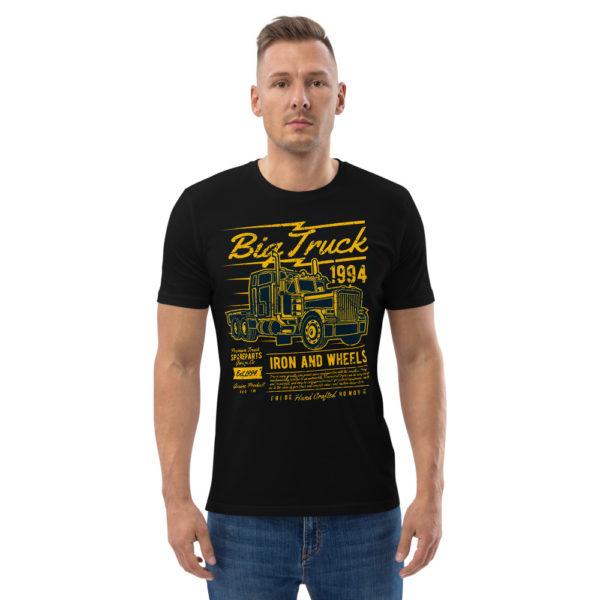 unisex organic cotton t shirt black front 2 606491d55a429