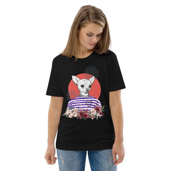 unisex organic cotton t shirt black front 2 614dd5d11b700