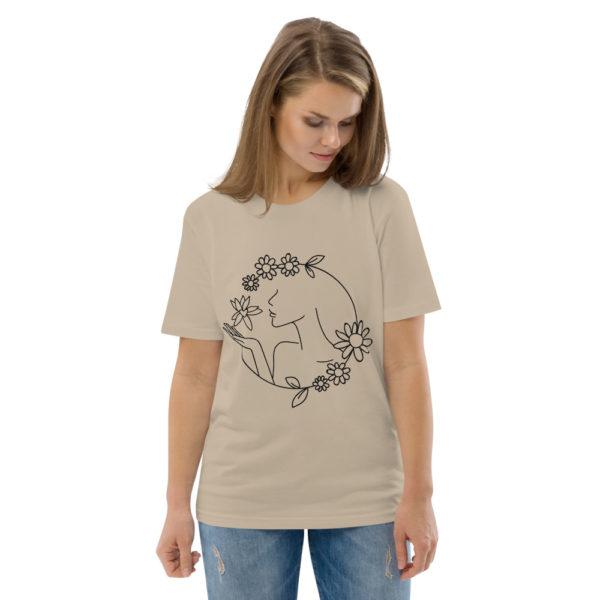 unisex organic cotton t shirt desert dust front 2 6144a43d25cc2