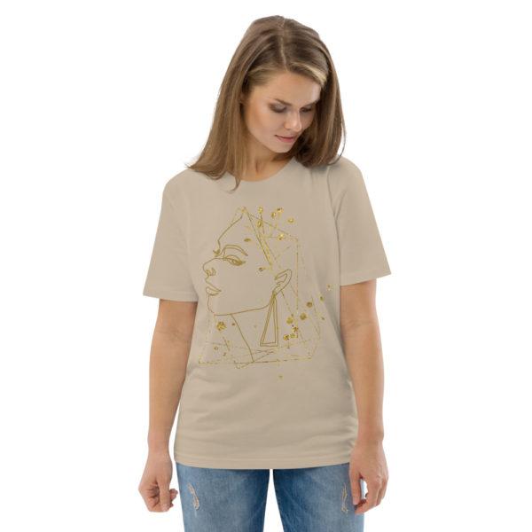 unisex organic cotton t shirt desert dust front 2 6144a7374f77f