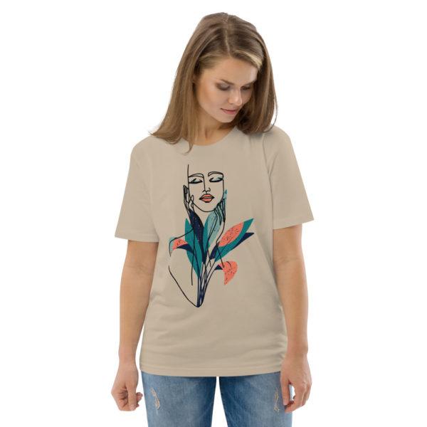 unisex organic cotton t shirt desert dust front 2 6144a905801e9