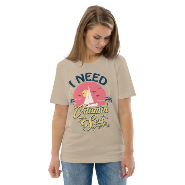 unisex organic cotton t shirt desert dust front 2 614dd3fb2db6f