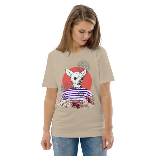 unisex organic cotton t shirt desert dust front 2 614dd5d11c38d