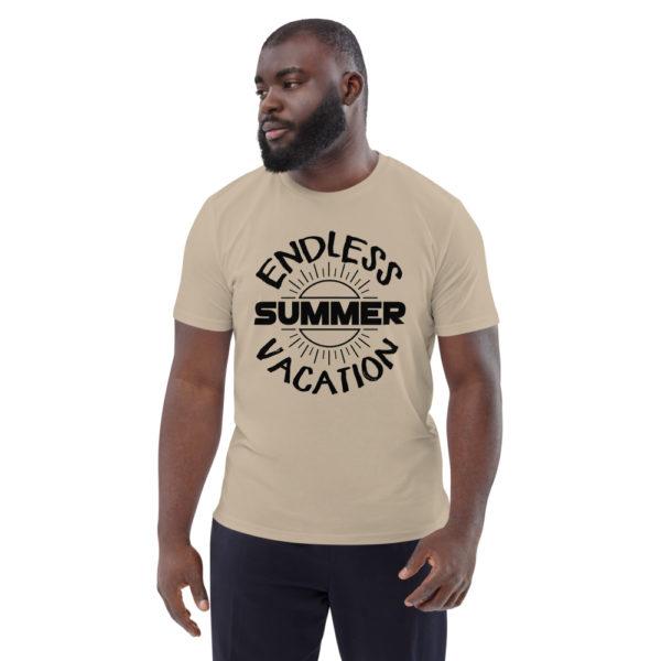unisex organic cotton t shirt desert dust front 6144a35764624
