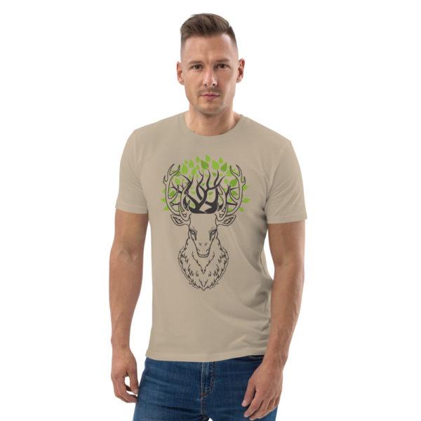 unisex organic cotton t shirt desert dust front 6144a3d72d583