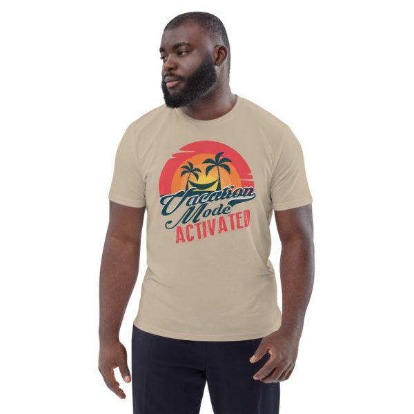 unisex organic cotton t shirt desert dust front 614dd1778016c