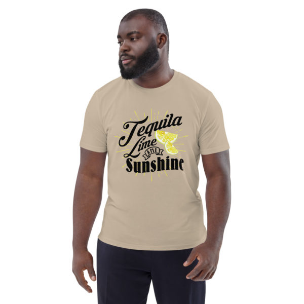 unisex organic cotton t shirt desert dust front 614dd3ada2f91