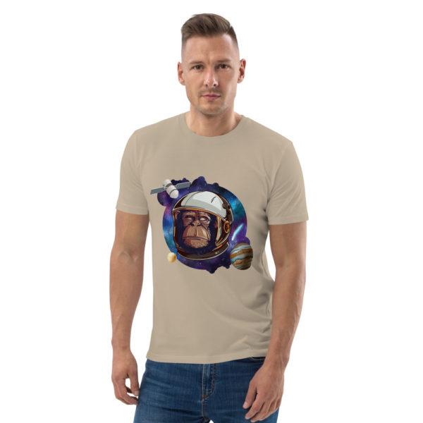 unisex organic cotton t shirt desert dust front 614dd5136af0b