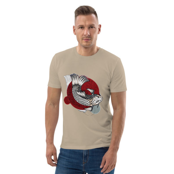 unisex organic cotton t shirt desert dust front 614dd95d27920