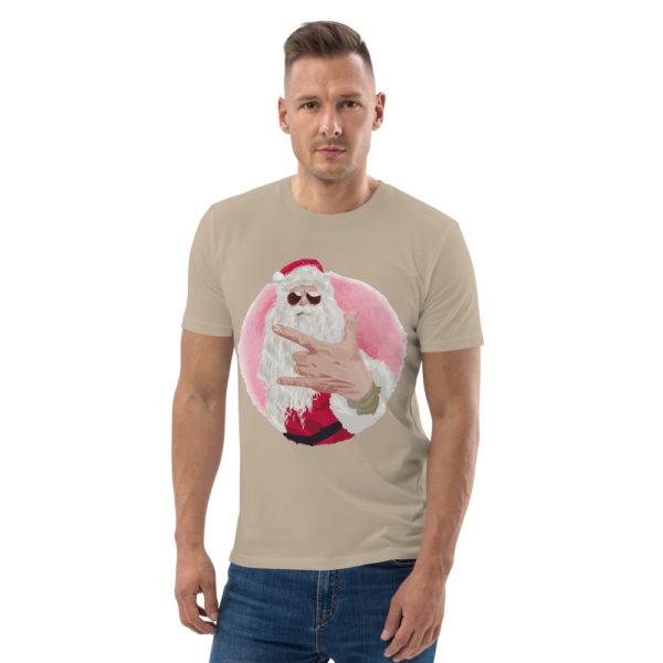 unisex organic cotton t shirt desert dust front 614dda55e2584