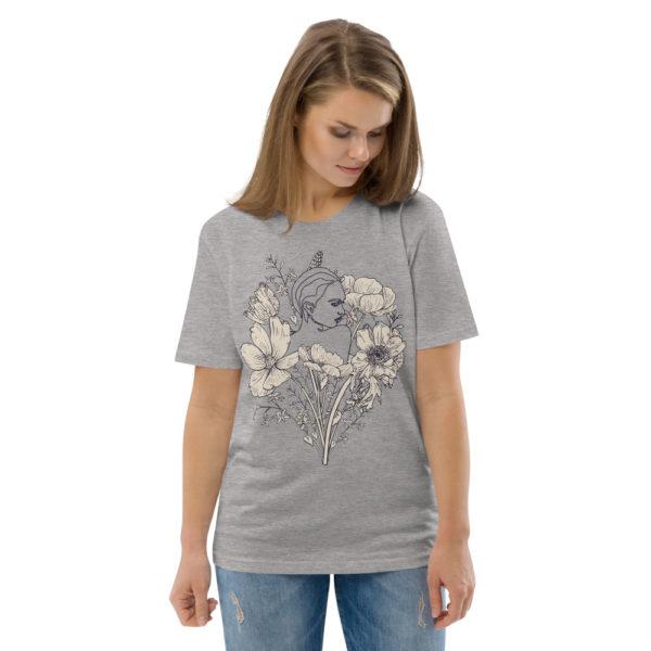 unisex organic cotton t shirt heather grey front 2 614dd07a35285