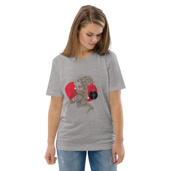 unisex organic cotton t shirt heather grey front 2 614dd49c80f06