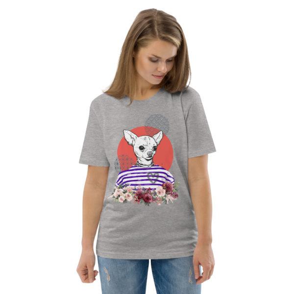 unisex organic cotton t shirt heather grey front 2 614dd5d11c6d9
